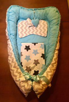 Kék csillag babafészek