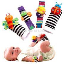 Kéz és lábcsörgő babáknak