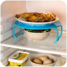 Helytakarékos tányértartó hűtőbe és mikróba Készletről