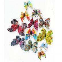 Pillangó dekoráció 12 db os készletről