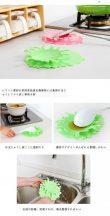 Kreatív alátét csészéhez, szedőkanálhoz
