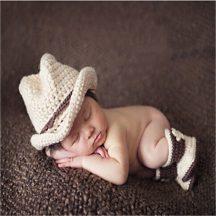 Baba fotózás - Coyboy kalap és csizma készletről