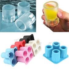 Pálinkás pohár alakú jégkocka készítő Készletről