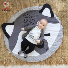 Mosó macis Játszó szőnyeg kör alakú