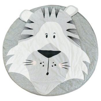 Tigris játszó szőnyeg kör alakú készletről