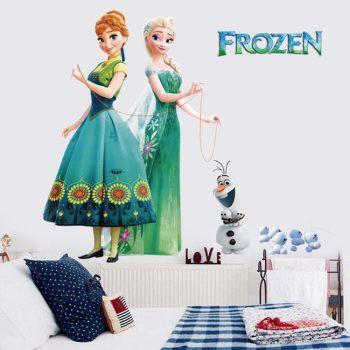 Jégvarázsos falmatrica ( Frozen ) Készletről