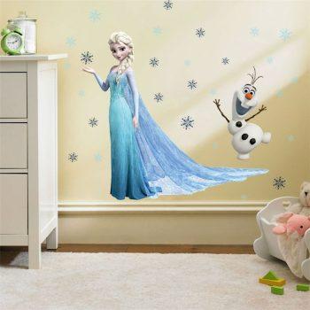 Jégvarázsos falmatrica- Elza és Olaf készletről