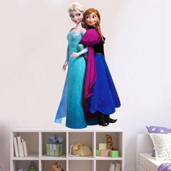 Jégvarázs - Elza és Anna falmatrica Készletről