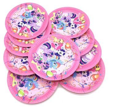 My Little Pony party szett 50 db-os