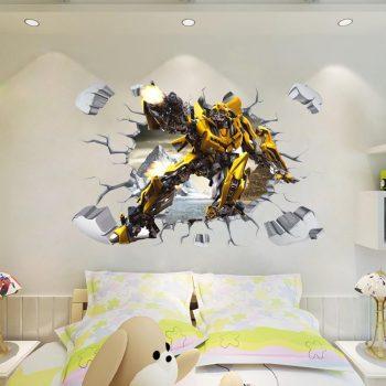 3D Űrdongó- Transformers falmatrica Készletről