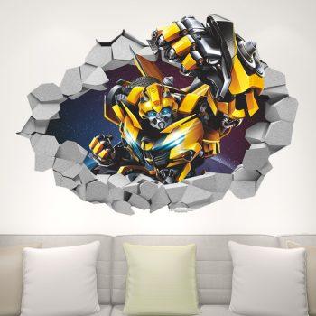 Űrdongó falmatrica 3D- Transformers teljes alakos Készletről