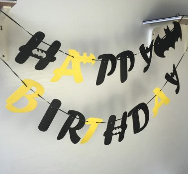 Batman Happy Birthday girland Készleten