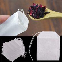 Tölthető teafilter 100 db-os készletről