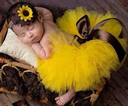 Baba Fotózás- Napraforgós balerina szett Készleten