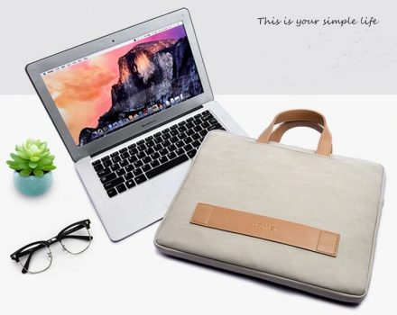 Laptop táska 15.6''-os szürke színben készletről
