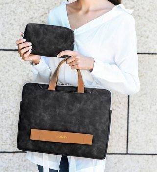 Laptop táska 15.6''-os fekete színben készletről