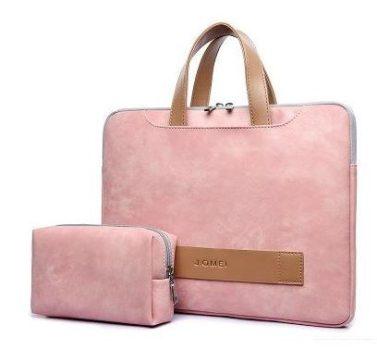 Laptop táska 15.6''-os rózsaszín színben