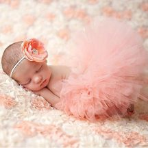 Baba fotózás-Rose Gold balerina szett Készletről