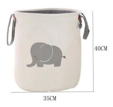Elefántos játéktároló gyerekszobába Készletről