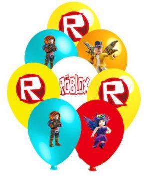 Roblox party dekorációs szett készletről