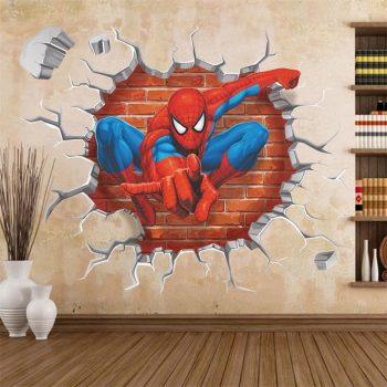 Pókember falmatrica készletről