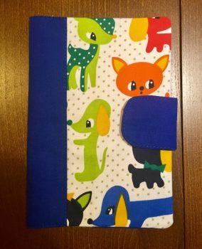 Kék állatos- Egészségügyi kiskönyv borító