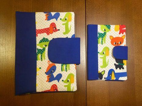 Babalátogató ajándék csomag-Kék állatos