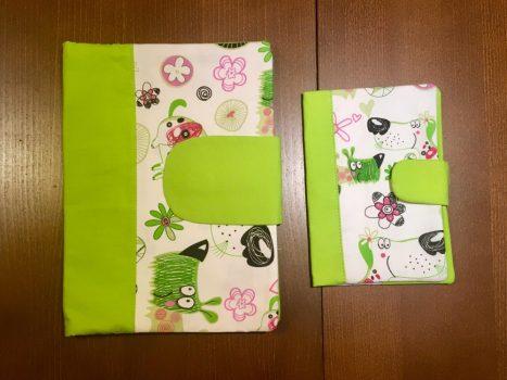 Babalátogató ajándék csomag-Zöld kutyusok