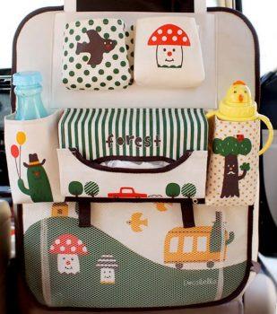 Autós rendszerező utazáshoz babáknak, gyerekeknek