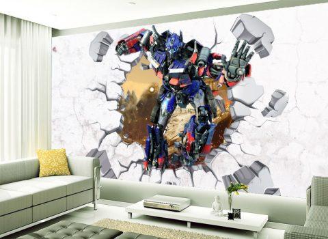 Transformers Optimus falmatrica készletről