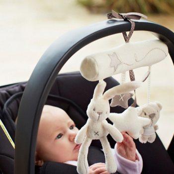 Nyuszis Zenélő, csörgő babajáték Készletről