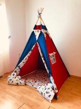 Kalózos indián sátor gyerekeknek